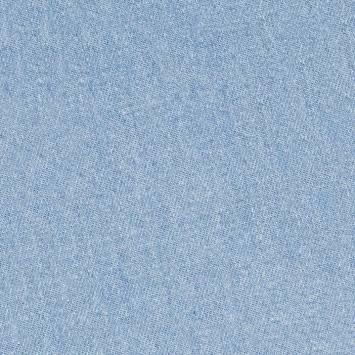 Tissu jean bleu clair