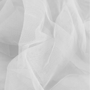 Résille extensible blanche
