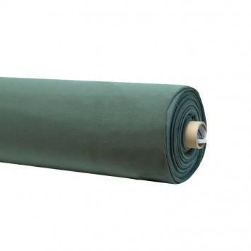 Rouleau 20m toile coton vert forêt grande largeur
