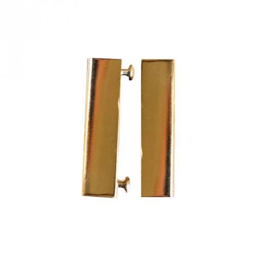 Fermoir magnet doré 38x19 mm