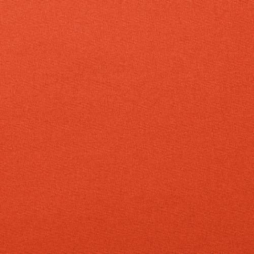 Coton uni orange foncé