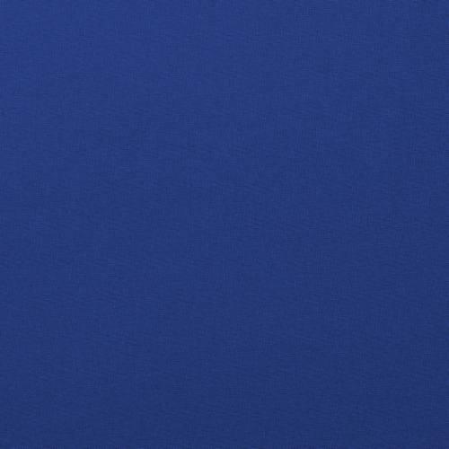 Coton uni bleu roi