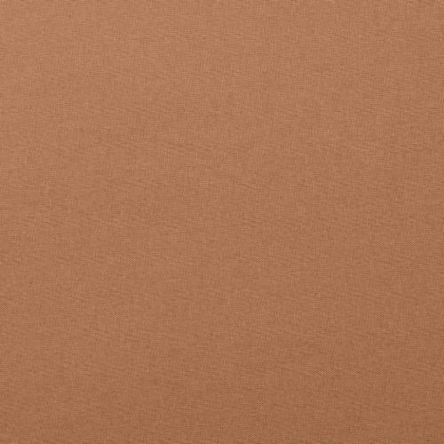 Coton uni marron clair
