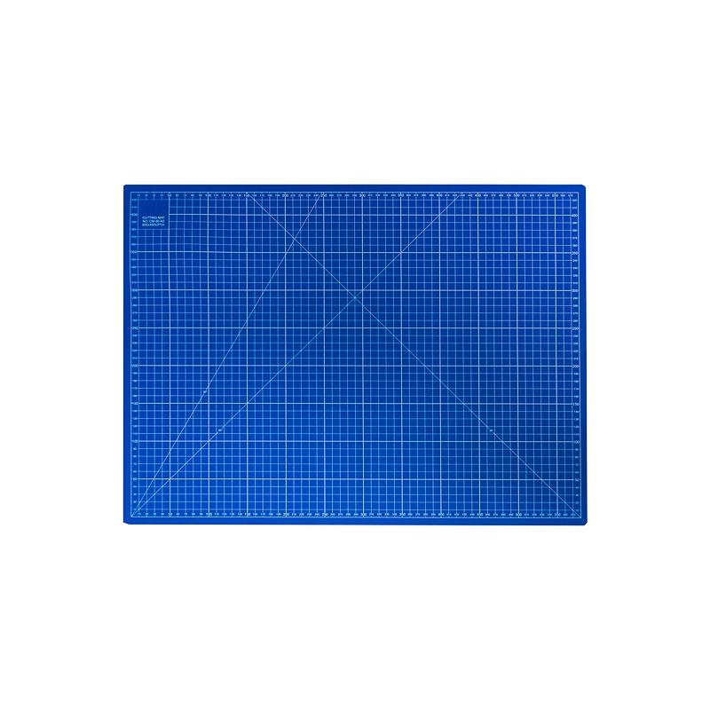tapis de d coupe bleu 45x30 cm pas cher tissus price. Black Bedroom Furniture Sets. Home Design Ideas