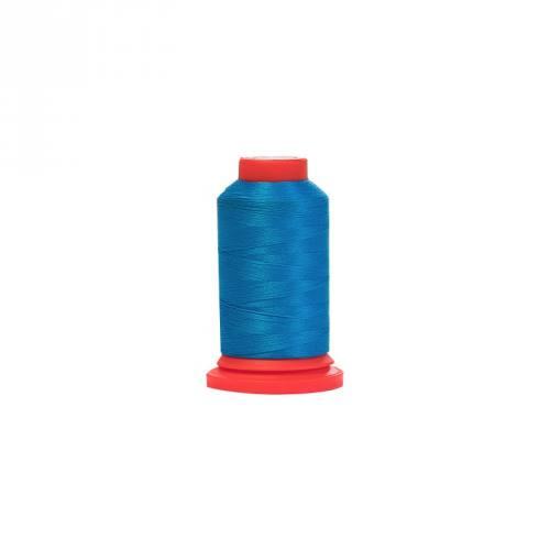 Cône de fil mousse - bleu