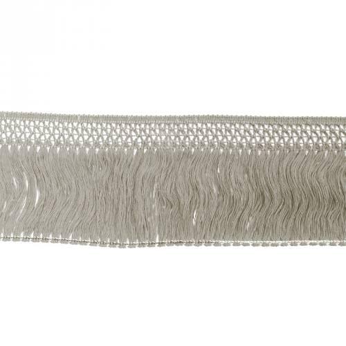 Frange coton 100 mm taupe