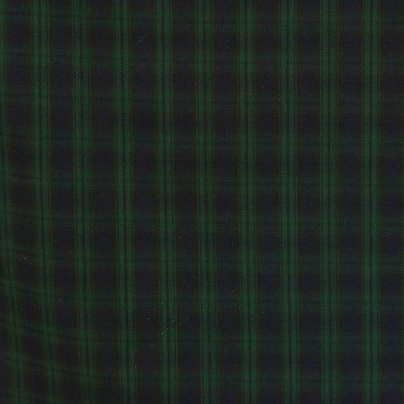 tissu tartan bleu marine et vert pas cher tissus price. Black Bedroom Furniture Sets. Home Design Ideas
