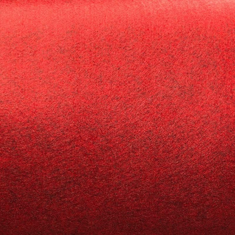 Feutrine rigide rouge