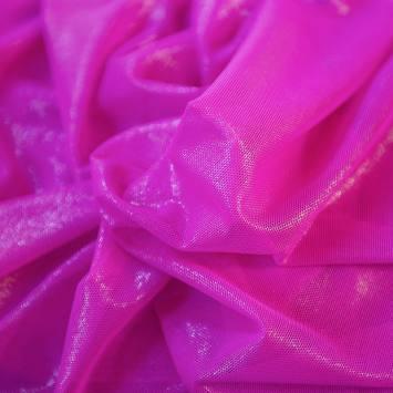 Résille extensible fuchsia brillant