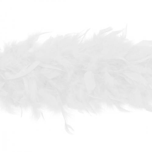Écharpe Boa blanche 2 mètres