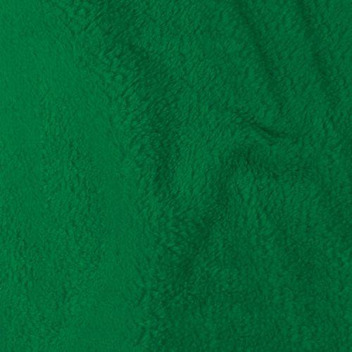 Tissu polaire microfibre vert 140 cm