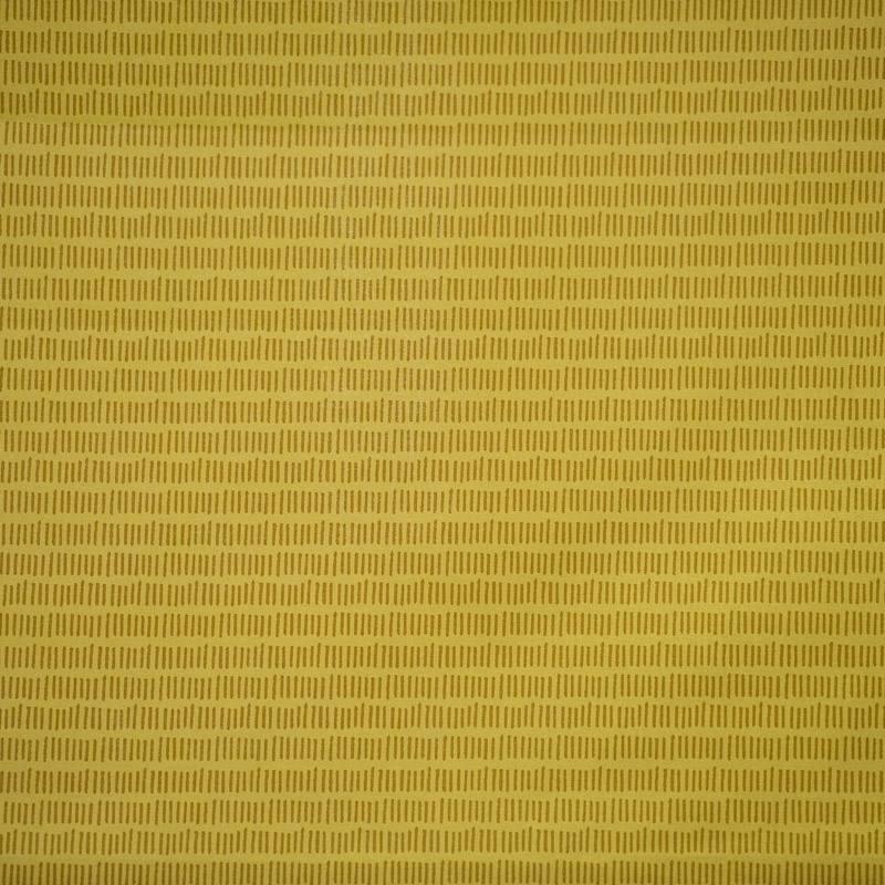 Coton jaune motif petit trait vintage pas cher tissus for Tissu impermeable exterieur pas cher