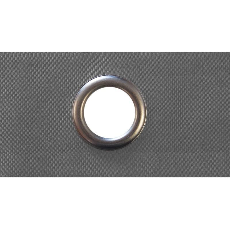 bande oeillet rideaux grise pas cher tissus price. Black Bedroom Furniture Sets. Home Design Ideas