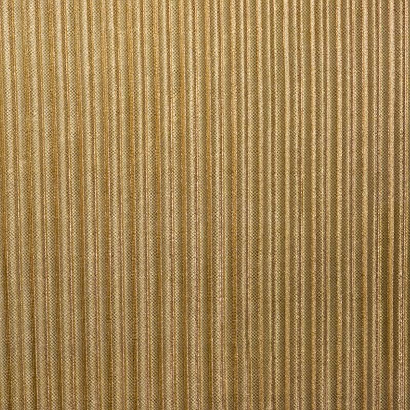 Tissu lurex plissé or