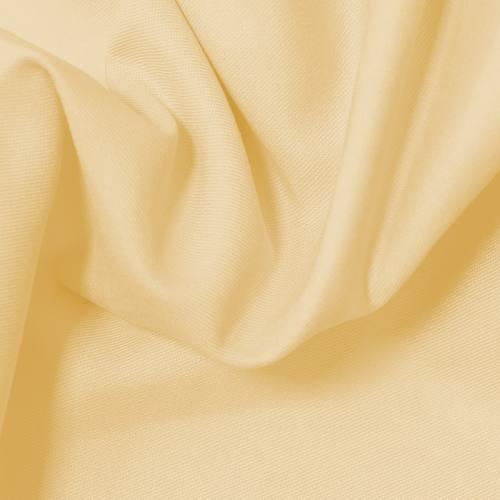 Jacquard polycoton uni jaune