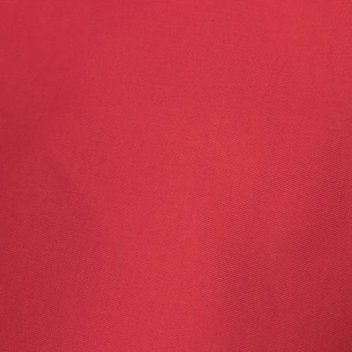 Jacquard polycoton uni rouge