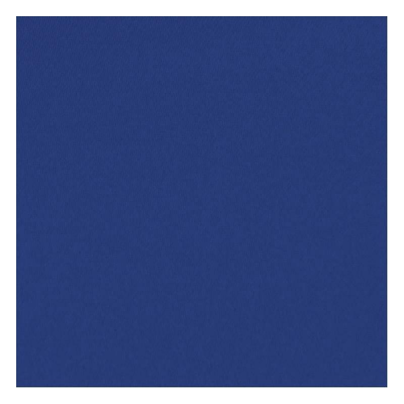 Toile coton demi-natté bleu roi