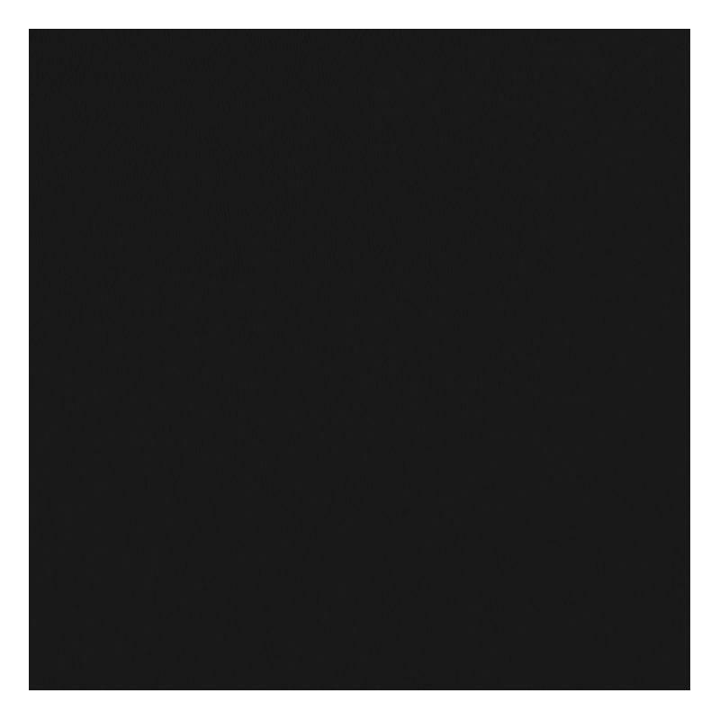 Toile coton demi-natté noire