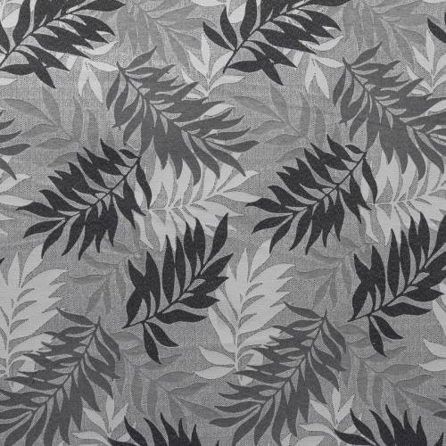 Jacquard jungle gris et noir