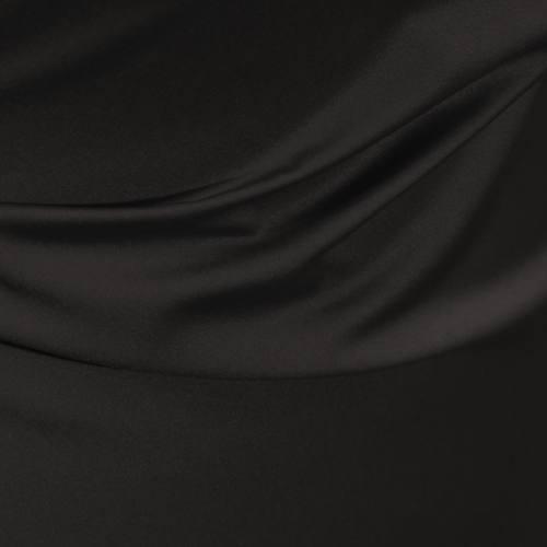Tissu microfibre extensible noir