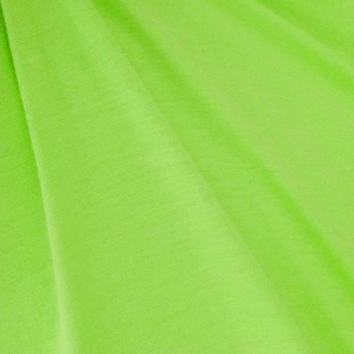 Jersey viscose uni vert fluo