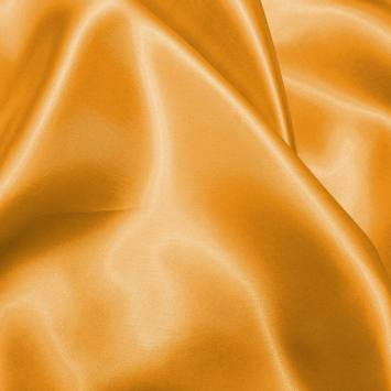 Satin uni orange clair 150 cm
