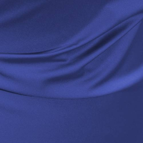 Satin microfibres royal bleu roi