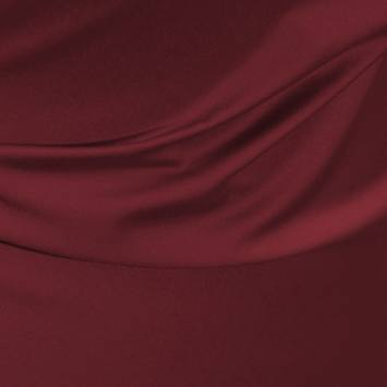 Satin microfibres royal lie de vin