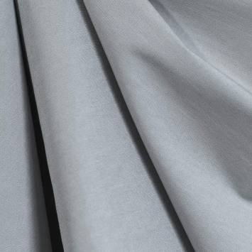 Tissu bengaline gris perle