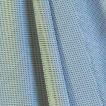 Suédine d'habillement extensible bleu ciel perlé
