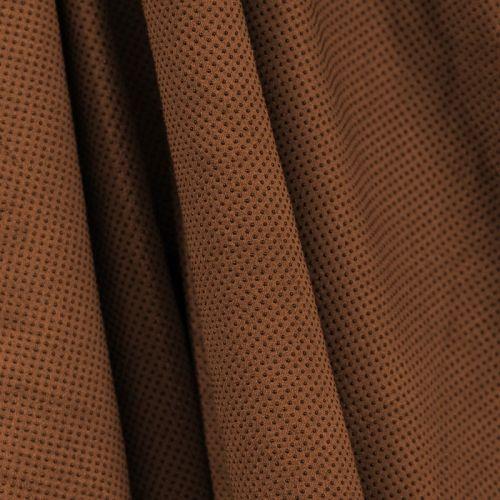 Suédine d'habillement extensible marron perlée