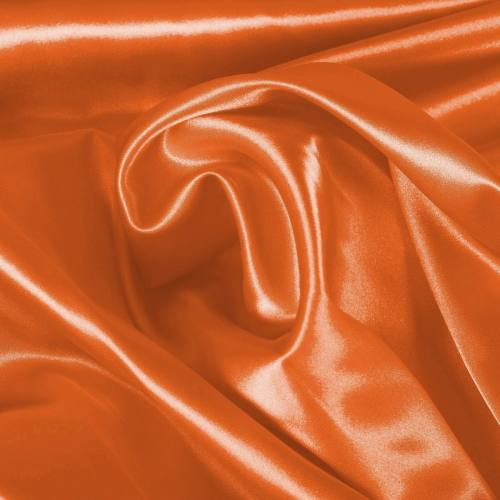 Satin extensible orange