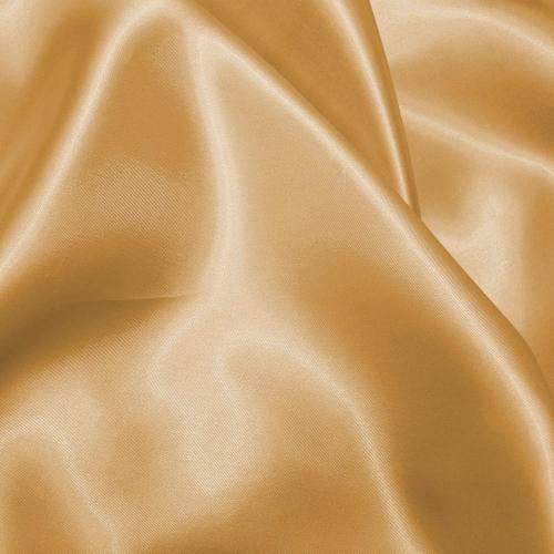 Satin uni jaune vénitien 150 cm