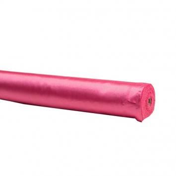 Rouleau 35m Satin uni fuchsia 110cm