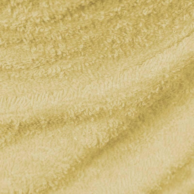Tissu éponge jaune d'oeuf 400Gr 19
