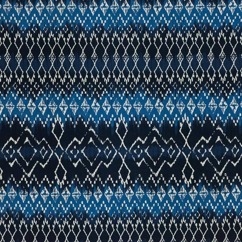 coton tie and dye bleu imprim ethnique pas cher tissus. Black Bedroom Furniture Sets. Home Design Ideas