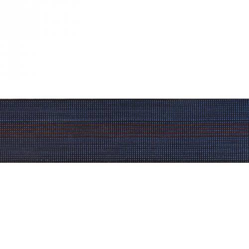 Sangle tapissière élastique bleu 70mm