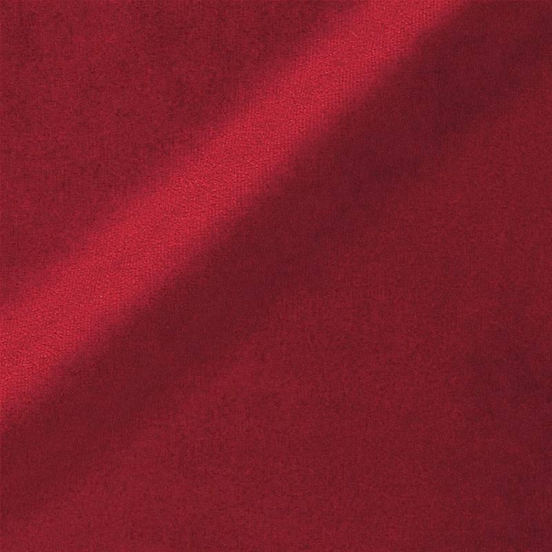 Velours uni rouge carmin 450 gr