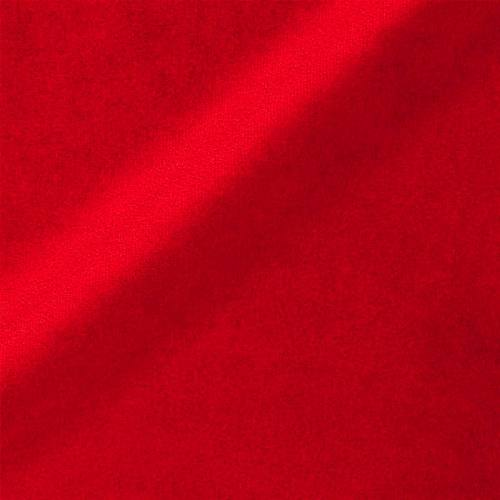 Velours teflon uni rouge 450 gr