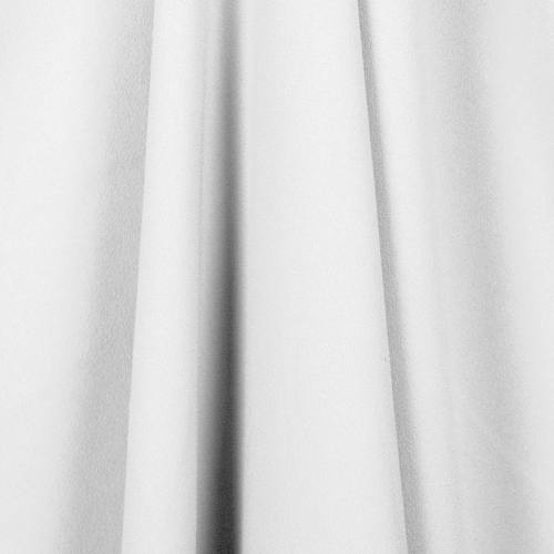Tissu crêpe extensible ivoire