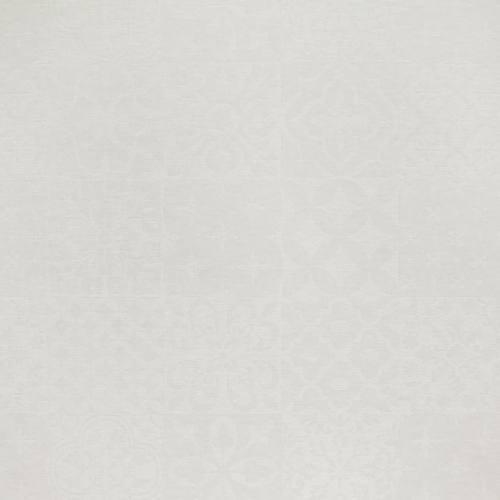 Jacquard enduit ivoire brillant à motif géométrique