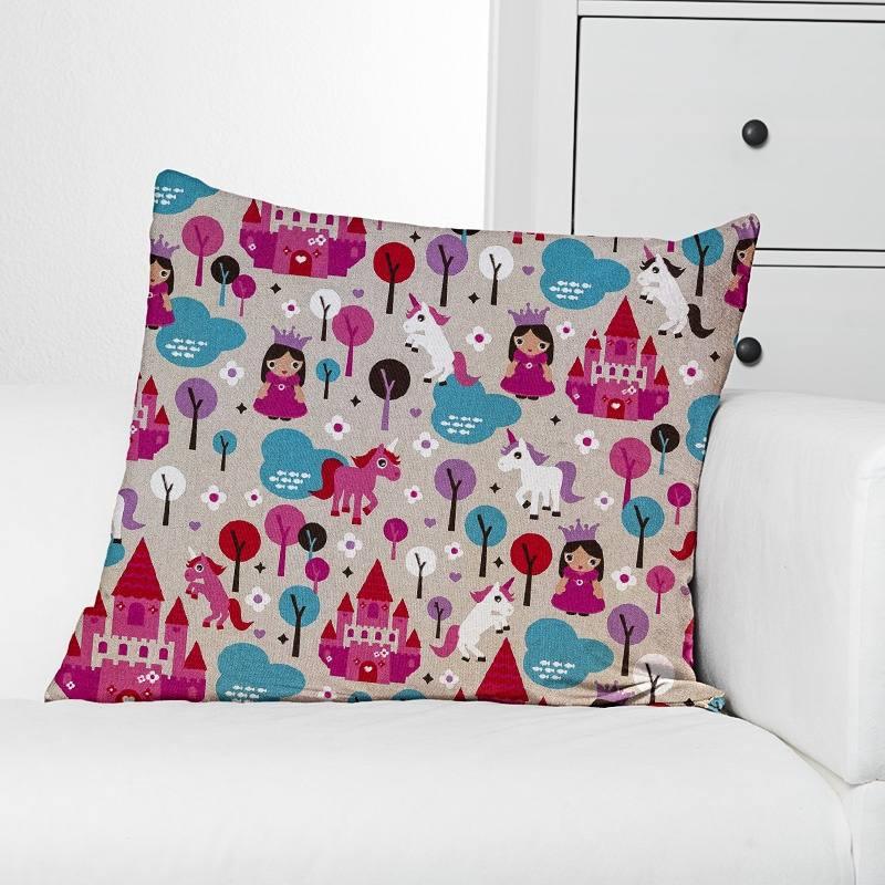 toile polycoton aspect lin imprim monde f erique pas cher. Black Bedroom Furniture Sets. Home Design Ideas