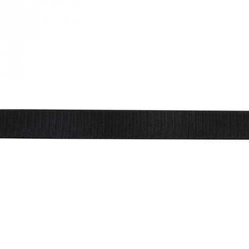 Auto agrippant à coudre crochet 16 mm noir