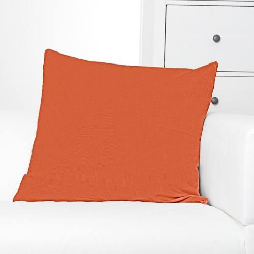 Toile coton orange grande largeur
