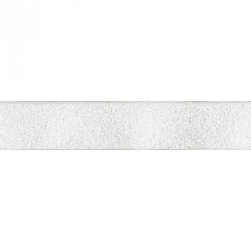 Auto agrippant adhésif velours 20 mm blanc