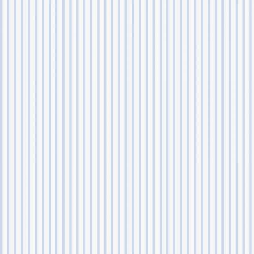Popeline rayée bleu pastel