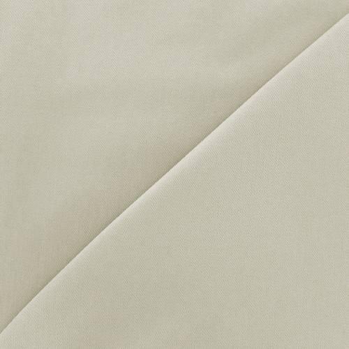 Tissu jean uni beige