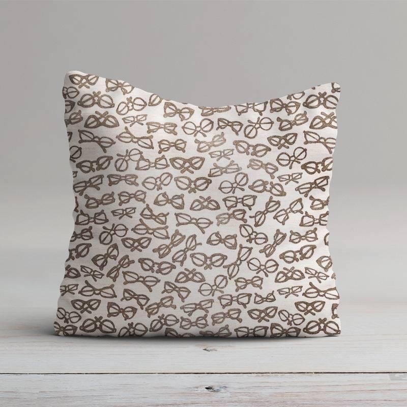 toile polycoton imprim e lunettes grande largeur pas cher. Black Bedroom Furniture Sets. Home Design Ideas