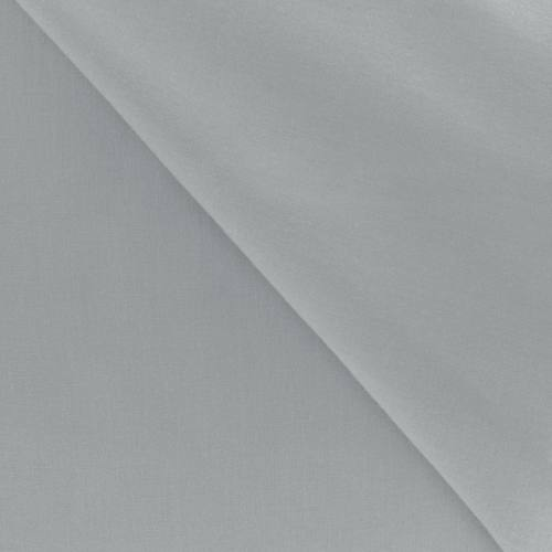 Polycoton uni gris