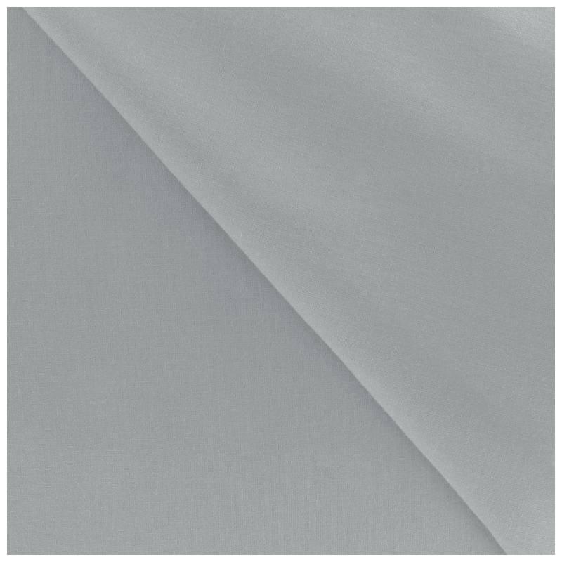 polycoton uni gris pas cher tissus price. Black Bedroom Furniture Sets. Home Design Ideas